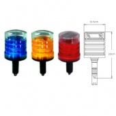 太陽能安全錐式警示燈