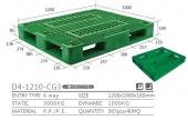 片面型棧板(D4-1210-CG3)-YLT