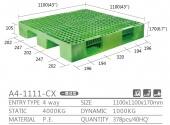 單面型棧板(  A4-1111-CX-YLC川字型)