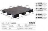 單面型棧板(S4-1210-FG-YLD)