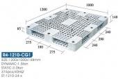 雙面型棧板(R4-1210-CG1-YLS)