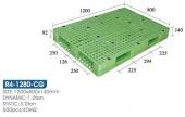 雙面型棧板(R4-1280-CG-YLS)