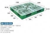 雙面型棧板( R4-1210-CG-YLS)