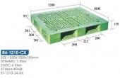 雙面型棧板(R4-1210-CX-YLS)