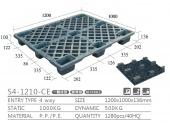 出口專用經濟型塑膠棧板(S4-1210-CE-YLCK)