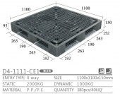 出口型棧板(D4-1111-CE1-YLCK)